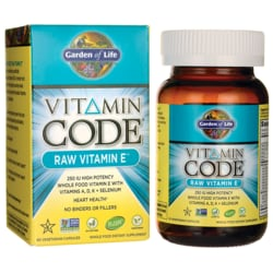 Garden of LifeVitamin Code Raw Vitamin E Complex