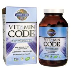 Garden of Life Vitamin Code 50 & Wiser Men