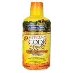 Garden of LifeVitamin Code Liquid Multivitamin Formula - Orange-Mango
