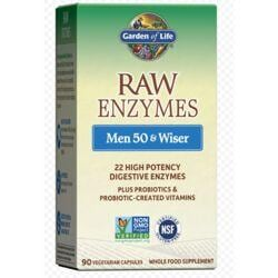Garden of LifeRAW Enzymes Men 50 & Wiser