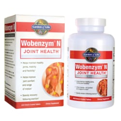 Garden of LifeWobenzym'N Healthy Inflammation and Joint Support