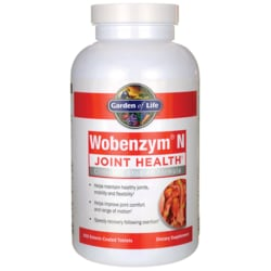 Garden of Life Wobenzym'N Healthy Inflammation and Joint Support
