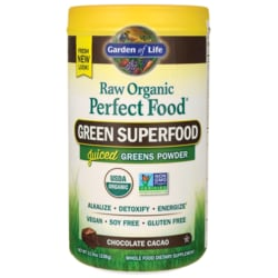 Garden of LifeRaw Organic Perfect Food Green Superfood - Chocolate Cacao