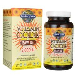 Garden of Life Vitamin Code Raw D3