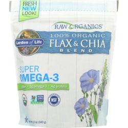 Garden of LifeOrganic Golden Flax Seed & Organic Chia Seed