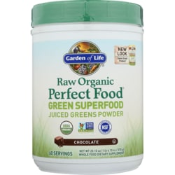 Garden of LifeRaw Organic Perfect Food Green Superfood - Chocolate Cacoa