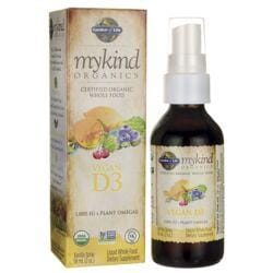 Garden of LifeMykind Organics Vegan D3 Spray - Vanilla