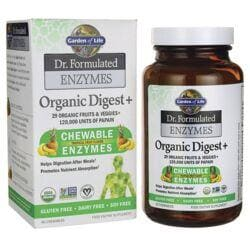 Garden of LifeDr. Formulated Enzymes Organic Digest+