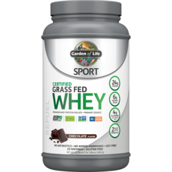 Garden of LifeSPORT Certified Grass Fed Whey Protein - Chocolate