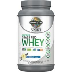 Garden of LifeSPORT Certified Grass Fed Whey Protein - Vanilla