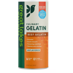 Great LakesBeef Hide Gelatin Collagen Joint Care - Unflavored