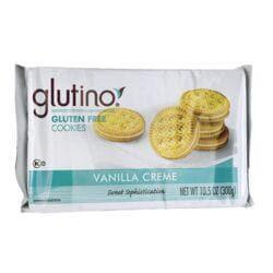 GlutinoGluten Free Dream Cookies - Vanilla Creme