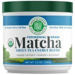 Green FoodsOrganic Matcha + Brown Rice Solids