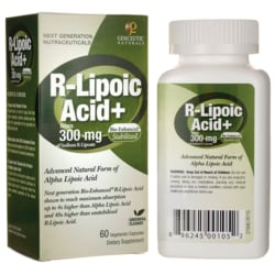 Genceutic Naturals R-Lipoic Acid+