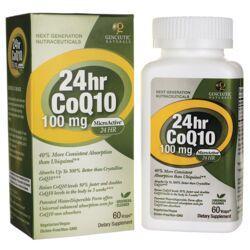 Genceutic Naturals24hr CoQ10