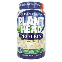 Genceutic NaturalsPlant Head Protein - Vanilla