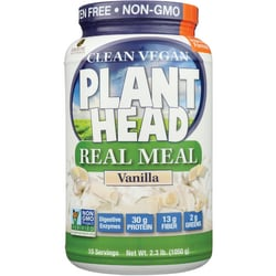 Genceutic NaturalsPlant Head Real Meal - Vanilla