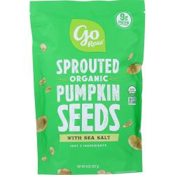 Go RawSprouted Pumpkin Seeds with Celtic Sea Salt