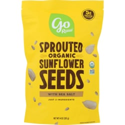 Go Raw Sprouted Sunflower Seeds with Celtic Sea Salt