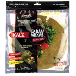 Green Leaf FoodsRaw Wraps - Kale