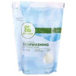 GrabGreenAutomatic Dishwashing Detergent Pods - Fragrance Free