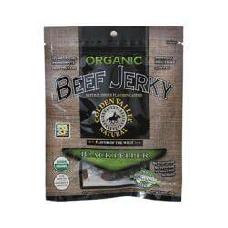 Golden Valley NaturalOrganic Beef Jerky Black Pepper Flavor