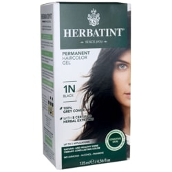 Herbatint Permanent Haircolor Gel 1N Black