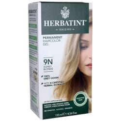 HerbatintPermanent Haircolor Gel 9N Honey Blonde