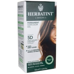 Herbatint Coloración herbal permanente en gel, 5D castaño dorado claro