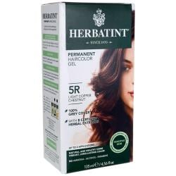 HerbatintPermanent Haircolor Gel 5R Light Copper Chestnut