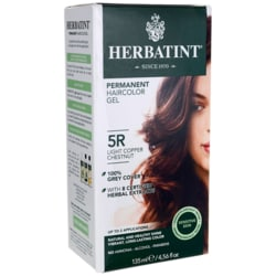 Herbatint Permanent Haircolor Gel 5R Light Copper Chestnut