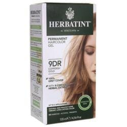 HerbatintPermanent Haircolor Gel 9DR Copperish Gold