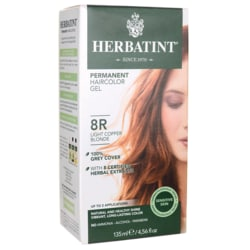 HerbatintPermanent Haircolor Gel 8R Light Copper Blonde