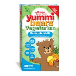 Hero Nutritionals Yummi Bears Vegetarian Multi-Vitamin & Mineral Sour