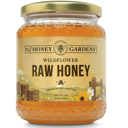 Honey Gardens Apitherapy Raw Honey