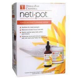 Himalayan ChandraNeti Pot Porcelain Sinus Cleansing System