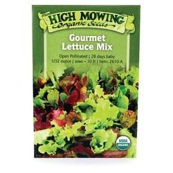 High Mowing Organic SeedsGourmet Lettuce Mix