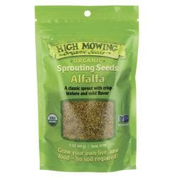 High Mowing Organic SeedsSprouting Seeds Alfalfa