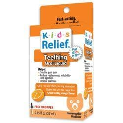 Homeolab USAKids Relief Teething Oral Liquid - Orange Flavor