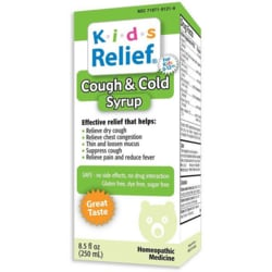 Homeolab USAKids Relief Cough & Cold