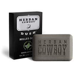 Herban CowboyDeodorant Milled Bar Soap - Dusk