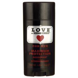 Herban CowboyMaximum Protection Deodorant - Love For Her