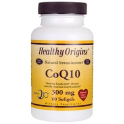 Healthy Origins 100% Natural (trans-isomer) CoQ10