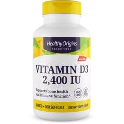 Healthy Origins Vitamin D3