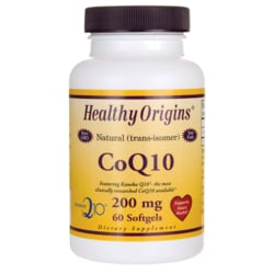Healthy Origins100% Natural (trans-isomer) CoQ10