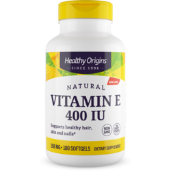 Healthy OriginsE-400 100% Natural Mixed Tocopherols
