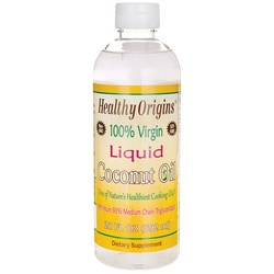 Healthy Origins100% Virgin Liquid Coconut Oil
