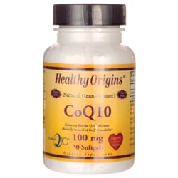 Healthy Origins100% Natural (trans-isomer) CoQ10 Gels