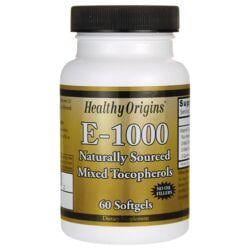 Healthy Origins100% Natural Vitamin E-1000 Mixed Tocopherols