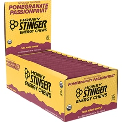 Honey StingerOrganic Energy Chews Pomegranate Passion